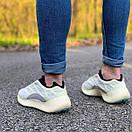 Мужские стильные кроссовки Adidas Yeezy Boost 700 V3, два цвета, фото 3