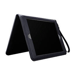 "Кожаный чехол-книжка для iPad 10.2"" 2019/2020 синий"
