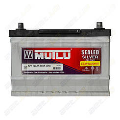 Аккумулятор Mutlu Silver Calcium 100Ah JL+ 760A