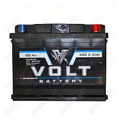 Аккумулятор Volt 60Ah R+ 480A (EN)