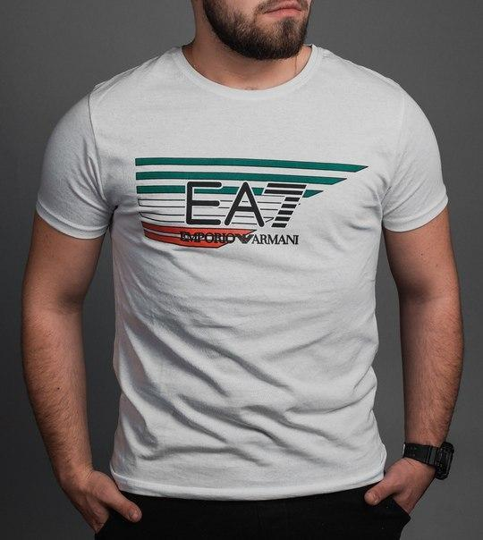 Стильная мужская футболка, Турция (4 цвета)