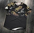 """Мужская модная футболка """"Sik Silk"""" из коттона, Турция (две модели), фото 2"""