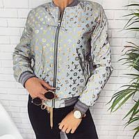 Бомбер женский Louis Vuitton (фабричный Китай) 645