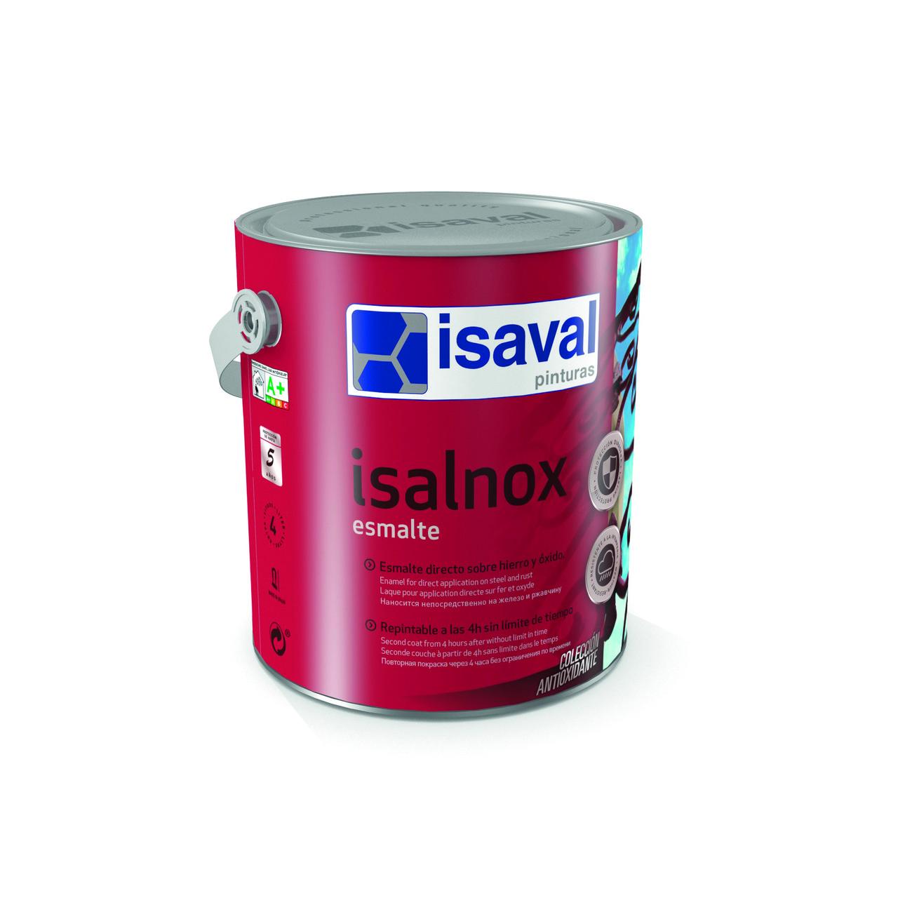 Противокоррозионная грунт-эмаль Изалнокс, глянцевая или сатиновая, прозрачная база 0,75л