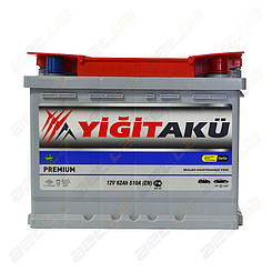 Аккумулятор Yigit Aku 62Ah R+ 510A