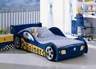 Ліжко-машинка. Для маленьких гонщиків