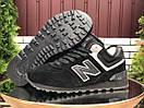 Зимние замшевые кроссовки New Balance, 4 цвета, фото 2