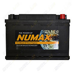 Аккумулятор Numax 74Ah R+ 700A