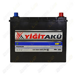 Аккумулятор Yigit Aku 70Ah JR+ 540A