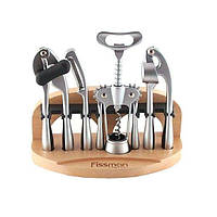 Fissman Orto Набор барных инструментов 5пр на подставке