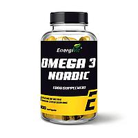 Омега - 3 - EnergiVit Omega 3 NORDIC 950 mg active omega 3 /100 softgels
