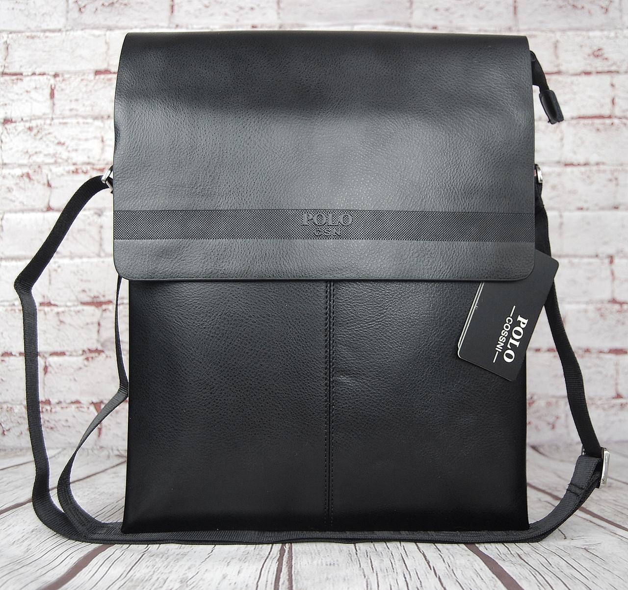 Большая сумка Polo под формат А4 Размер 36 на 28 КС95-1