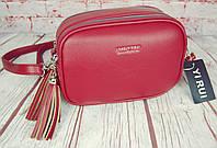 Женская сумка через плечо. Небольшая сумочка, клатч на 2 молнии. КС115-1, фото 1