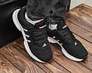 Мужские черные кроссовки Adidas, фото 2