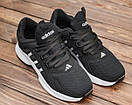 Мужские черные кроссовки Adidas, фото 4