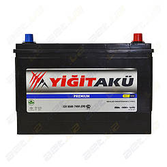 Аккумулятор Yigit Aku 90Ah JR+ 740A