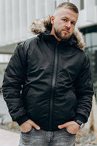 Куртка мужская зимняя черная PRIDE 127528P