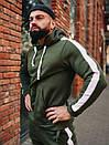 Зимний мужской спортивный костюм Asos, 6 цветов 46, Зеленый, фото 2