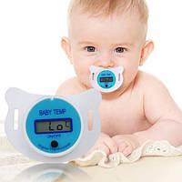 Детский градусник соска-термометр цифровой Baby Temp Pacifier электронный, фото 1