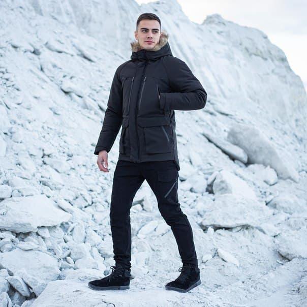 Мужской комплект парка Pobedov «seniora udacha»+штаны Pobedov trousers Vibukh (4 цвета)