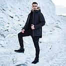 Мужской комплект парка Pobedov «seniora udacha»+штаны Pobedov trousers Vibukh (4 цвета), фото 2