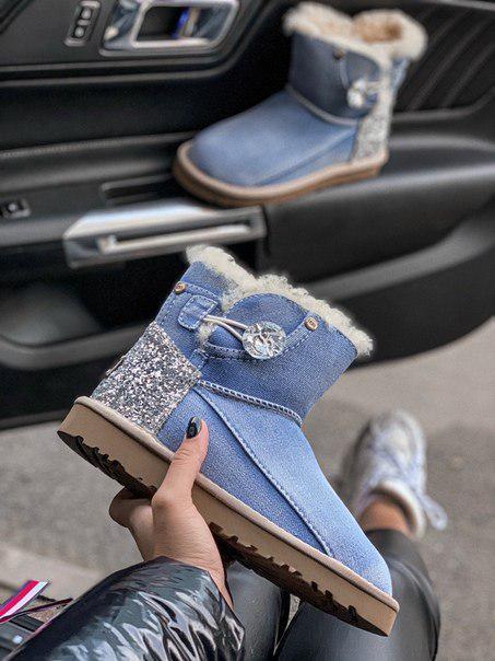 Зимние стильные сапожки-угги