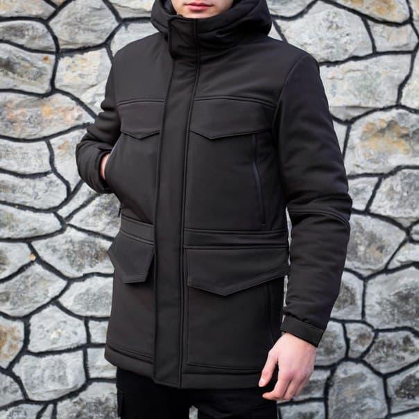 "Зимняя мужская куртка Pobedov ""Rocketman""  (3 цвета)"