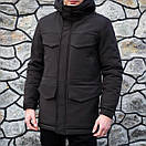 "Зимняя мужская куртка Pobedov ""Rocketman""  (3 цвета), фото 10"