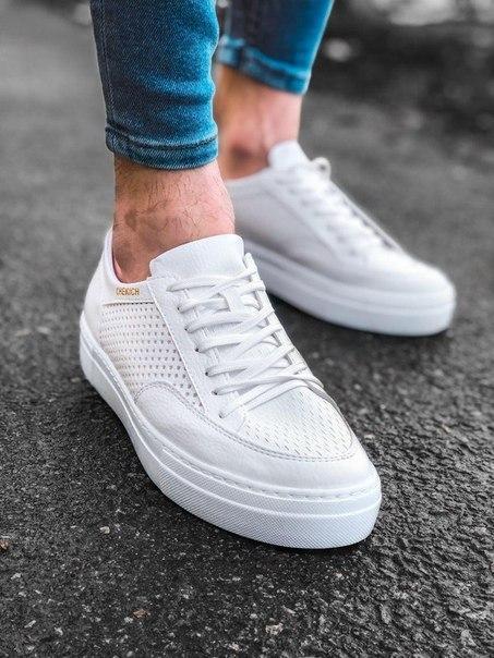 Мужские стильные кроссовки, два цвета