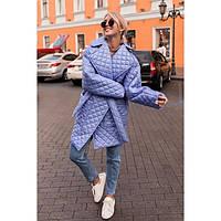 Пальто куртка женская стеганая Бойфренд норма