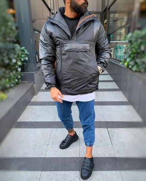 Мужская Куртка-Анорак до -5, Турция (три цвета)