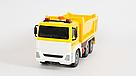 """Машинка грузовик спецтехника с воздушной помпой """"City service"""" желтый (свет, звук), фото 2"""