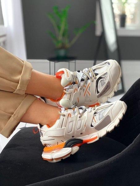 Женские стильные кроссовки Balenciaga Track Trainer, два цвета