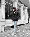 Стильная мужская куртка оверсайз, Турция (два цвета), фото 4