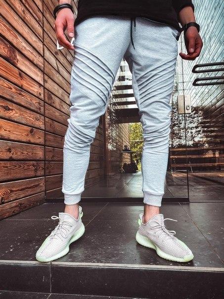 Зауженные мужские спортивные штаны, Турция  (два цвета)
