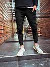 Зауженные мужские спортивные штаны, Турция  (два цвета), фото 4