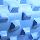 Массажный валик ролик для йоги и фитнеса Dobetters Rumble Roller Blue 45*15 см, фото 3