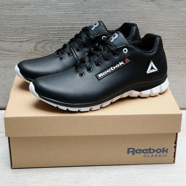 Стильные мужские кроссовки Reebok из кожи