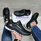 Стильные мужские кроссовки Reebok из кожи, фото 5