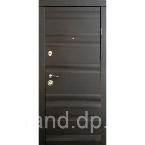 Входные двери металлические для квартиры Магда 141/ 2 венге южный