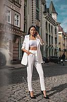 Костюм брючный женский с заужинными брюками