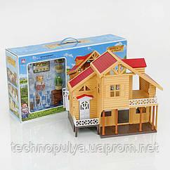 Вилла с фигурками и мебелью Счастливая семья Small Toys 012-03 (2-55693A)