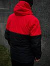 Демисезонная Куртка Waterproof Intruder (красно - черный), фото 2