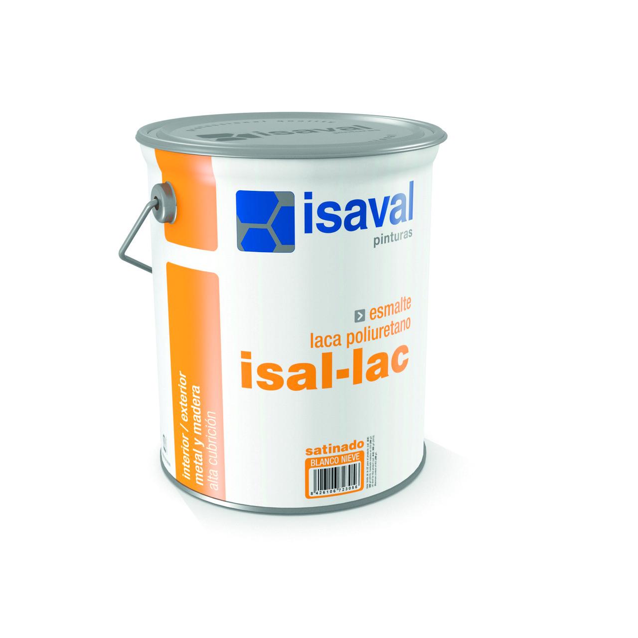 Поліуретанова емаль напівматова для більшості видів поверхонь Изаллак 4л - до 60м2