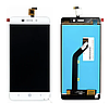 Дисплей (экран) для ZTE Blade X3 A452 D2 T620 + тачскрин, белый