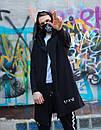 Модная мужская мантия с качественным принтом, фото 4
