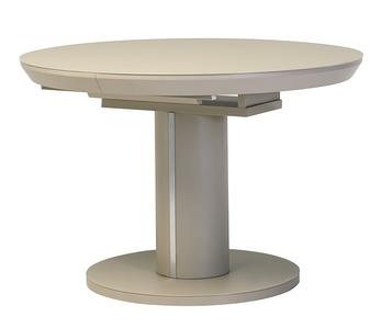 Стол раскладной ТМL-519 Капучино (110-150*110*76(Н) TM Vetro Mebel
