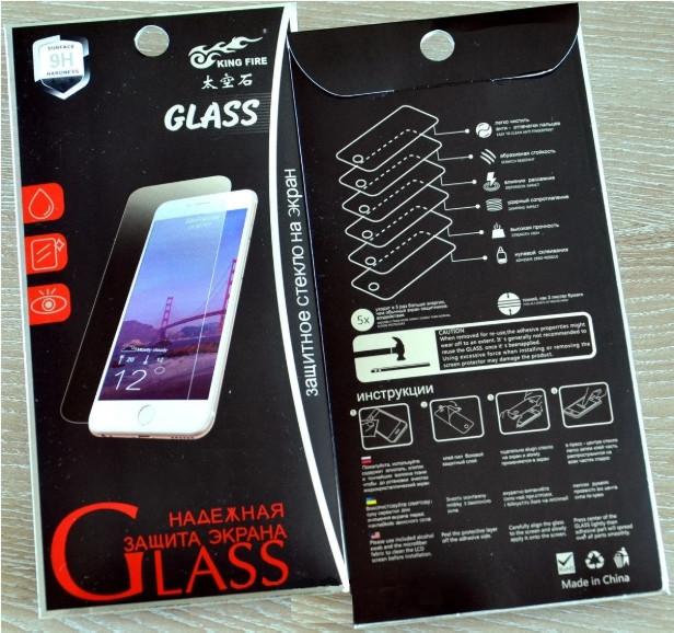 Защитное стекло для iPhone X/XS/11 Pro 9H Прозрачный