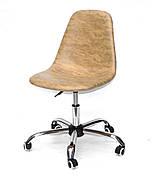 Крісло офісне на коліщатках LARІ OFFICE ПК ЖОВТИЙ MR - 201