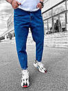 Синие мужские джинсы свободного кроя, Турция, фото 3